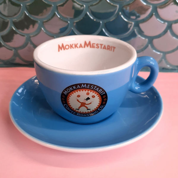 Cappuccino Cup, Blue